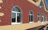 Акриловая Фасадная панель STONE HOUSE (Стоун Хаус) под кирпич, Бежевый, фото 8