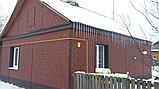 Акриловая Фасадная панель STONE HOUSE (Стоун Хаус) под кирпич, Красный, фото 3