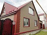 Акриловая Фасадная панель STONE HOUSE (Стоун Хаус) под кирпич, Красный, фото 7