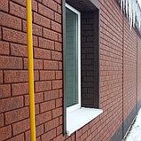 Акриловая Фасадная панель STONE HOUSE (Стоун Хаус) под кирпич, Красный, фото 8