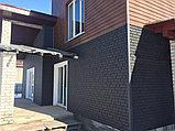 Акриловая Фасадная панель STONE HOUSE (Стоун Хаус) под кирпич, Красный, фото 9