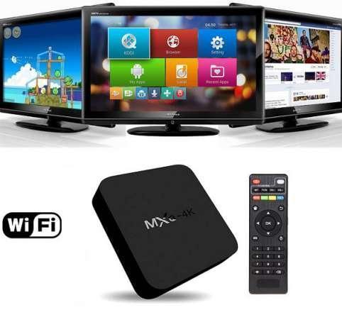 Приставка для телевизора Android Smart TV-Box MXQ-4K PRO