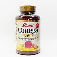 Рыбий Жир Омега 3-6-9 Balen 1585 mg., (100 капсул)