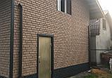 Акриловая Фасадная панель STONE HOUSE (Стоун Хаус) под камень и кирпич, цвет: Кирпич-Графитовый, фото 7
