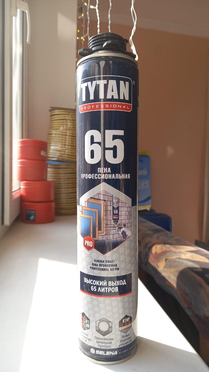 Пена монтажная, профессиональная О2 65 750 мл/ TYTAN