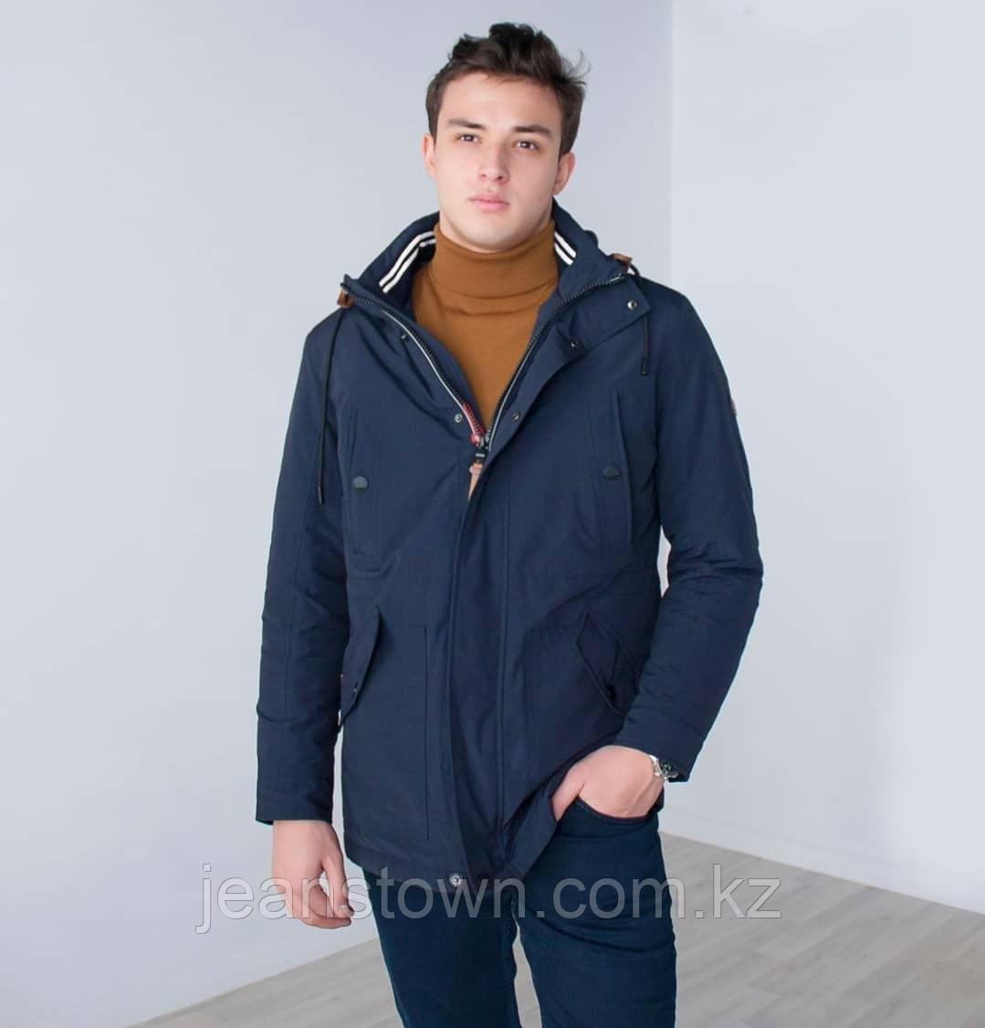 Куртка мужская  демисезонная  Kings Wind  темно-синяя