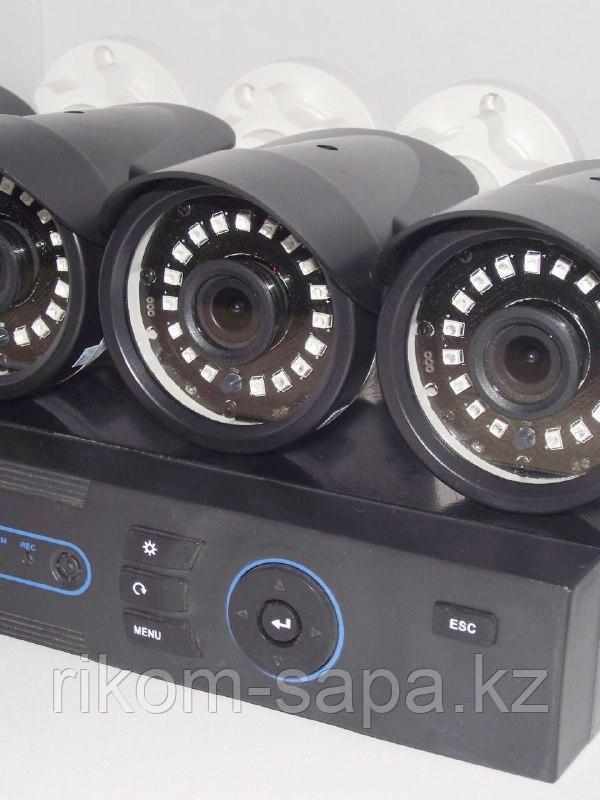 Готовый комплект видеонаблюдения в Алматы