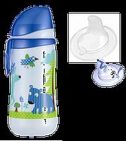 Nip Поильник пластиковый д/мал 330 мл, с соской силикон 12+