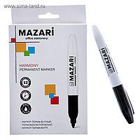 Маркер перманентный 2мм круглый Mazari M-5001 Harm