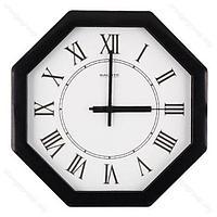 Часы настенные П-В6-020 Салют черные