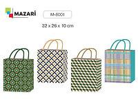 """Подарочный пакет 32*26 """"Иллюзия"""" Mazari M-8001"""