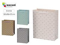 """Подарочный пакет 32*26 """"Абстракция"""" Mazari M-8104"""