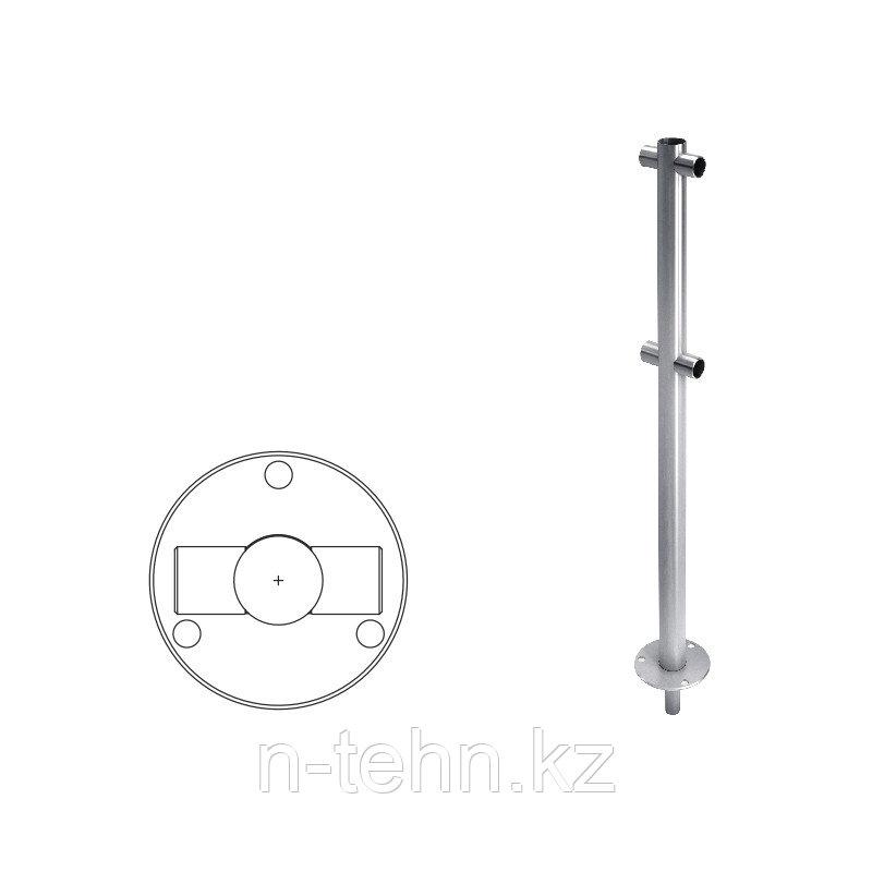ВЗР 2462-00.02-01 Стойка ограждения под стекло i-образная  h=400мм