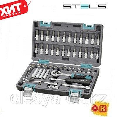 Набор инструментов 1/4. 57 предметов. STELS 14101, фото 2