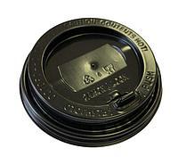 Крышка с клапаном d=80мм черная (100/1000)