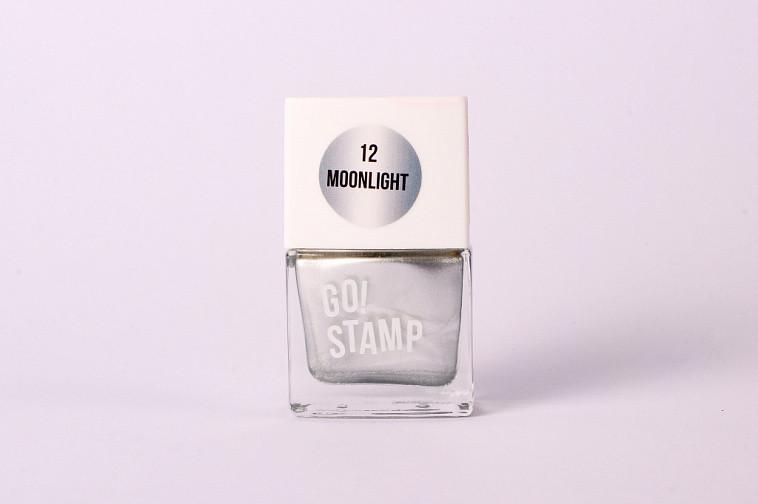 Лак для стемпинга Go Stamp 12 Moonlight - фото 2