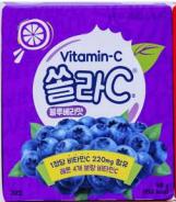 Витамин С 220 мг №20 табл.для рассасывания Черника Корея
