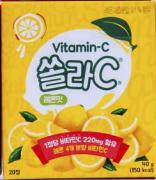 Витамин С 220 мг №20 табл.для рассасывания Лимон Корея