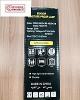 Светильник LED НПП 30W круг белый с датчиком PLATO, фото 6