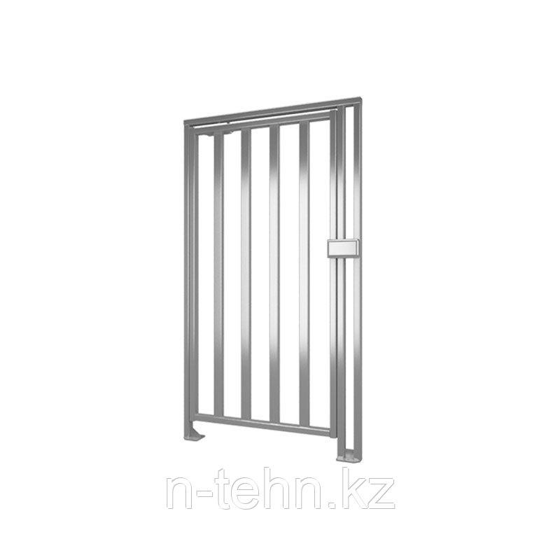 Калитка полноростовая К-10-H левая нержавеющая сталь