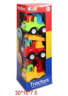 """Набор машин """"Tractors"""" (3шт в упак.) (6829А*)"""
