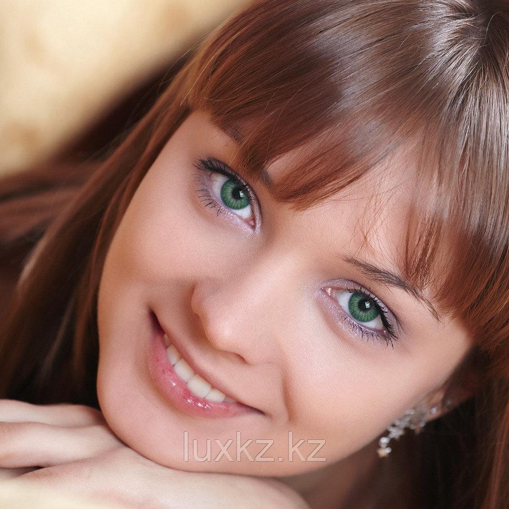 Цветные линзы DOX Am 77 green - фото 1