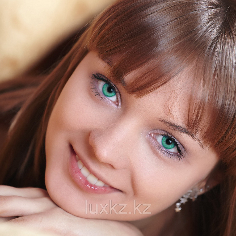 Цветные линзы DOX H 35 green velvet - фото 1