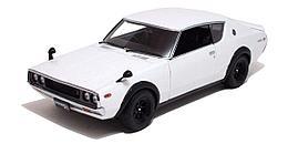 1/18 Kyosho Коллекционная машинка Nissan Skyline 2000GT-R, белый