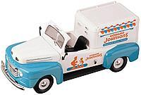 1/18 Road Legends Коллекционная модель Ford F-1 1951 года, грузовик для продажи Мороженого