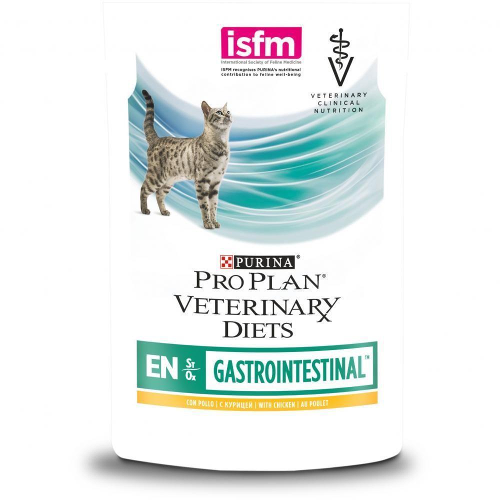 Корм Pro Plan Veterinary Diets для кошек при расстройствах пищеварения, с курицей, 85 г