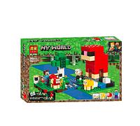 """Конструктор Bela (Lari) 11361 Minecraft """"Шерстяная ферма"""", 266 детали"""