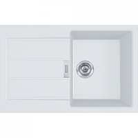 Кухонная мойка гранит Franke S2D 611-78 белый автомат