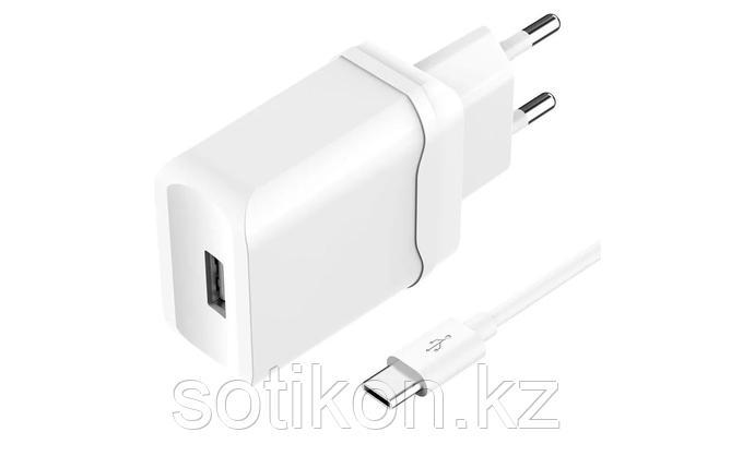 Зарядное устройство сетевое OLMIO USB, 2.4A, Smart IC, фото 2