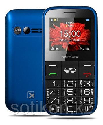 Мобильный телефон Texet TM-B227 синий, фото 2