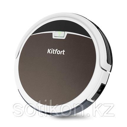 Пылесос-робот Kitfort KT-519-4 коричневый, фото 2