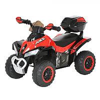 Толокар Pituso Квадроцикл с багажником Красный