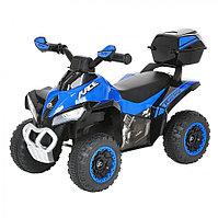 Толокар Pituso Квадроцикл с багажником Синий