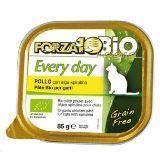 Forza10 Every Bio Pollo Alga (птица) 85г влажный корм для кошек, фото 1