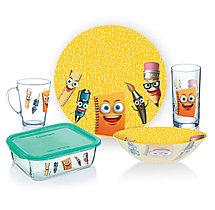Детский набор посуды Luminarc STATIONERY (5 предметов)