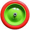 Колесо полиуретановое 3.00-8, длина оси 90 мм, подшипник 20 мм Сибртех