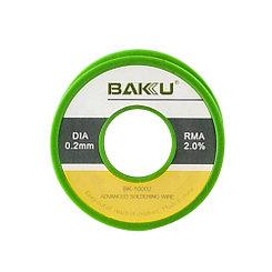 Олово катушка Baku BK-10002 (0,2mm) 50g