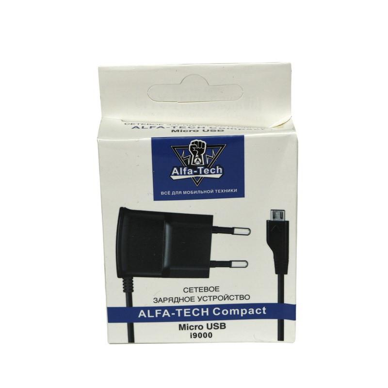 Сетевое зарядное устройство Alfa-Tech (AL) i9000 micro USB 5V-07A
