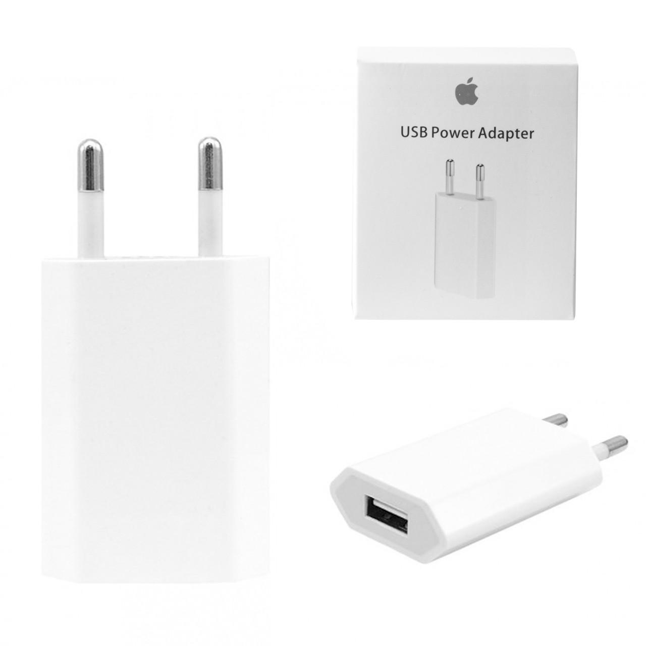 Сетевое зарядное устройство Apple 5W MD813ZM/A V1