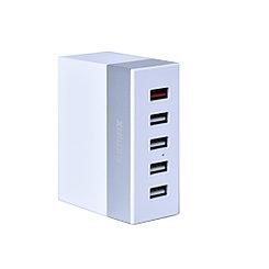 Сетевое зарядное устройство Remax RU-U1 5xUSB 6A 1.2m White/Gold