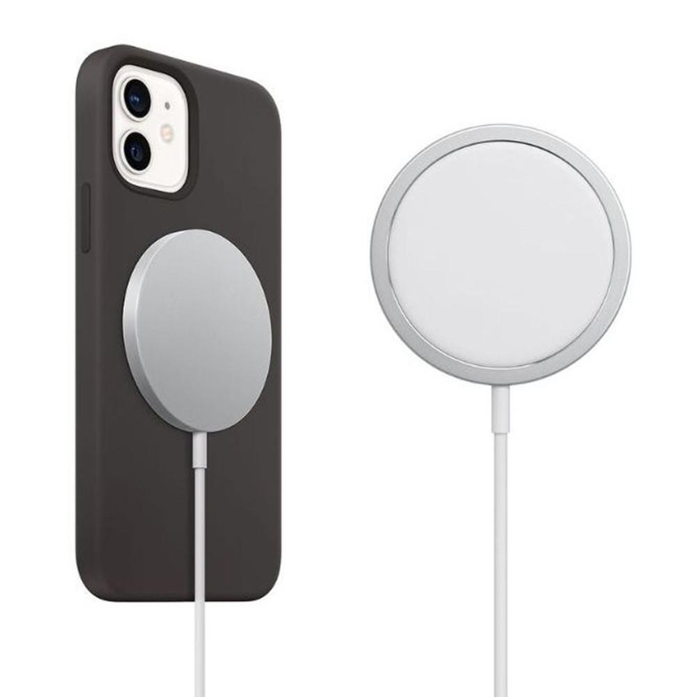 Беспроводное магнитное зарядное устройство  Apple MagSafe Charger, Copy, White