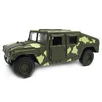 Игрушка Welly военный бронированный автомобиль 99192CM