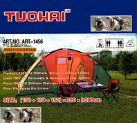 Палатка люкс TUOHAI 1456 размер {150 + 150 + 150} х 220 х h200 см