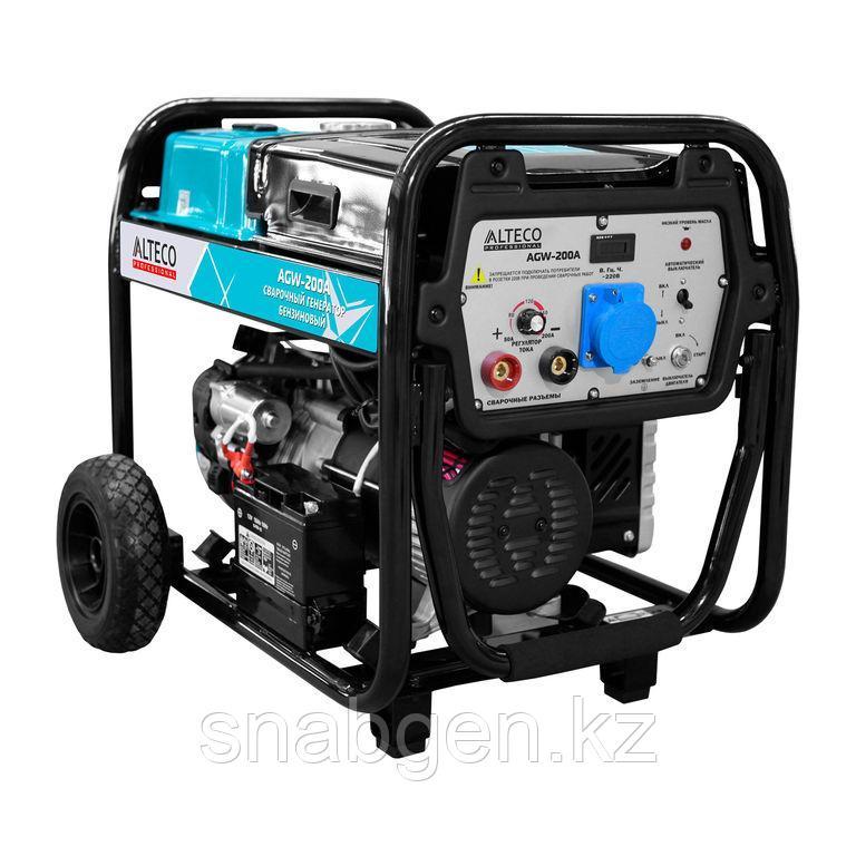 Бензиновый генератор сварочный ALTECO AGW 200 A