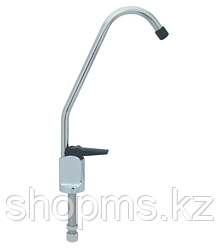 Кран чистой воды, NatureWater D-01 (Silver, нажимной)