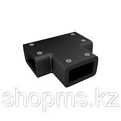 Коннектор каркаса душевой перегородки Walk In, черный, Slide, IDDIS, SLI1BS0i23